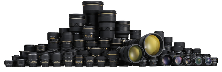 of NIKKOR Lenses Continues Total Production of NIKKOR Lenses for Nikon