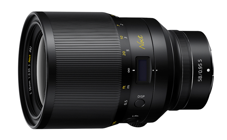 the new NIKKOR Z 58mm f/0.95 S Noct lens